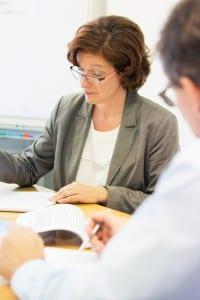 Ein Bild von einem Meeting